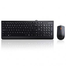 LENOVO 300 USB Combo Keyboard and Mouse - Hebrew/English
