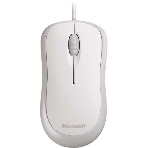Microsoft Basic Optical Mouse for Business - White (4YH-00006)