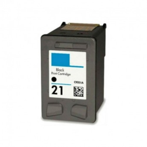 HP 21 Black Ink Cartridge C9351AE
